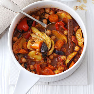 Chickpea & Roasted Veg Tagine