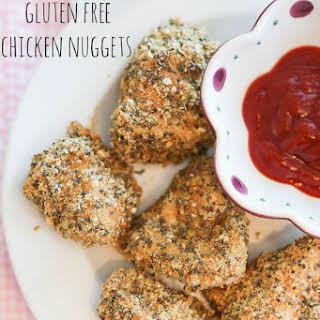 Healthy Gluten Free Chicken Nuggets.