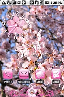 Cherry Blossom Theme 2 HD