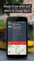 Screenshot of SmartCity Budapest Transport