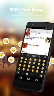 GO Keyboard + Emoji & Emoticon - screenshot thumbnail