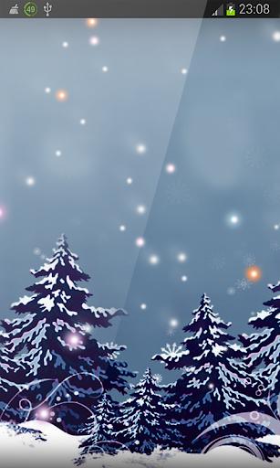Nordland Frozen Xmas HD LWP