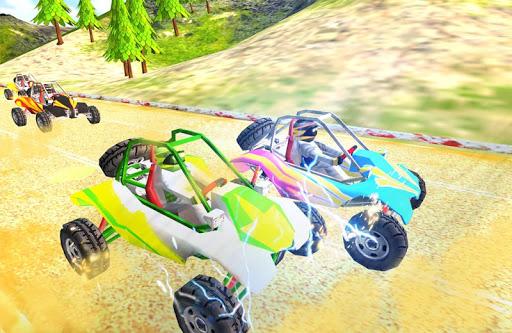 ATV越野车比赛