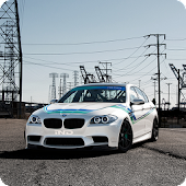 BMW M5 Cars Live Wallpaper 3D