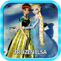 Wallpaper Frozen Elsa & Anna