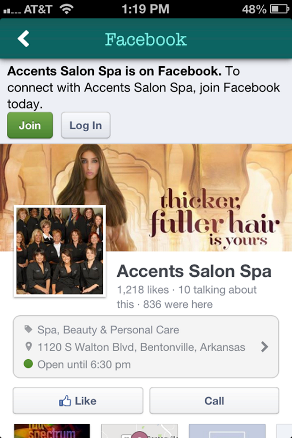 Accents salon spa android apps on google play for Accents salon bentonville ar