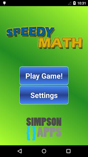Speedy Math Free