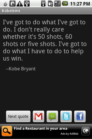 Kobeisms - screenshot