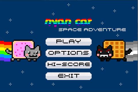 Nyan Cat: Space Adventure