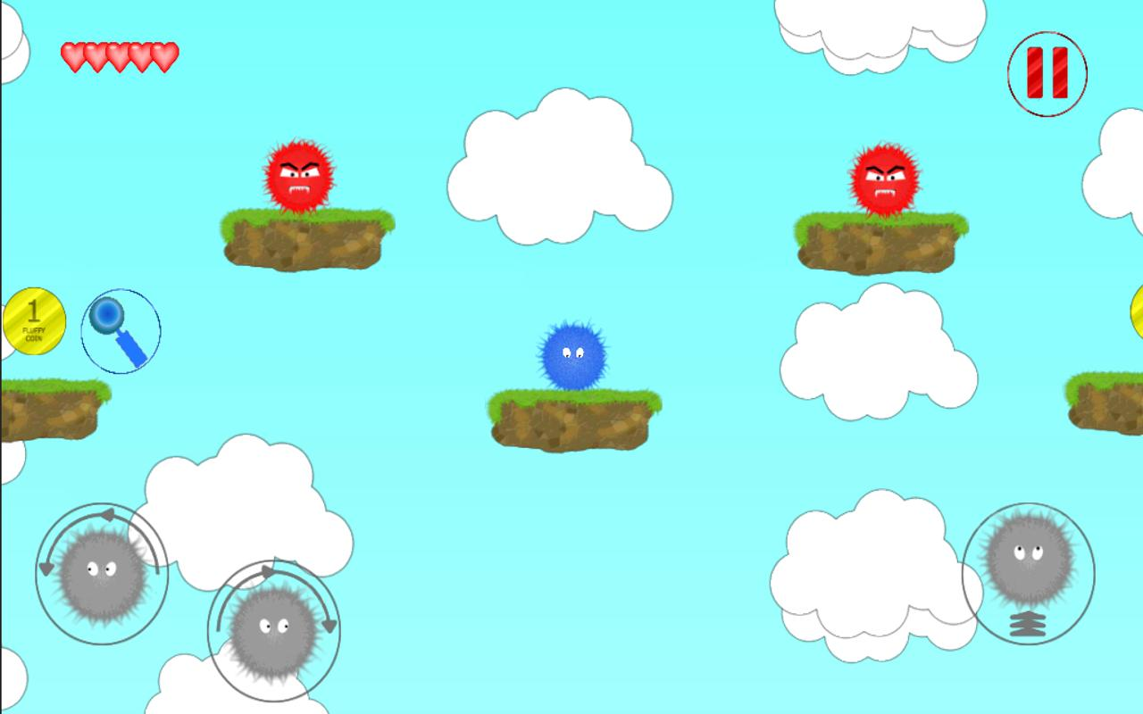 Fuzzy hero - screenshot