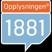 Opplysningen 1881 Mobilsøk