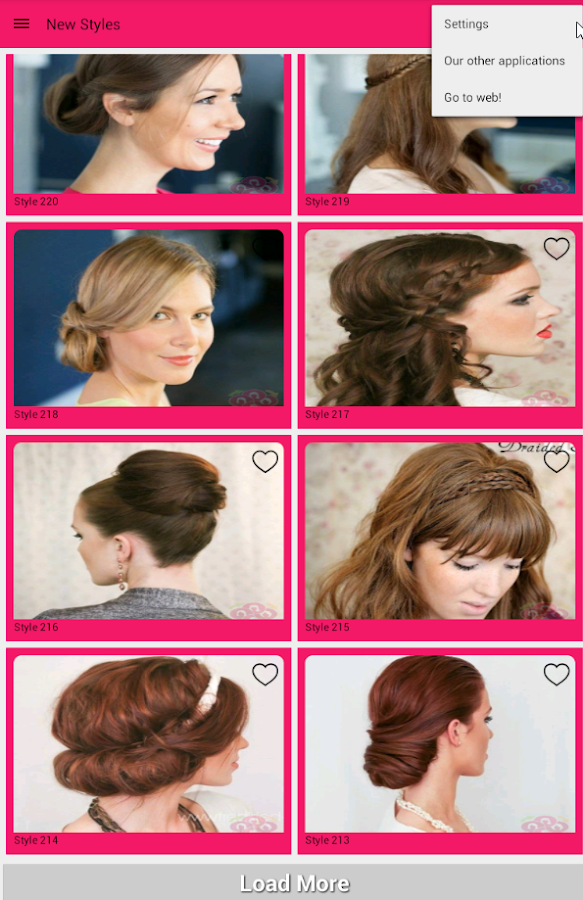 Hair Styles Step by step- screenshot