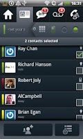 Screenshot of Avaya one-X® Mobile for IPO