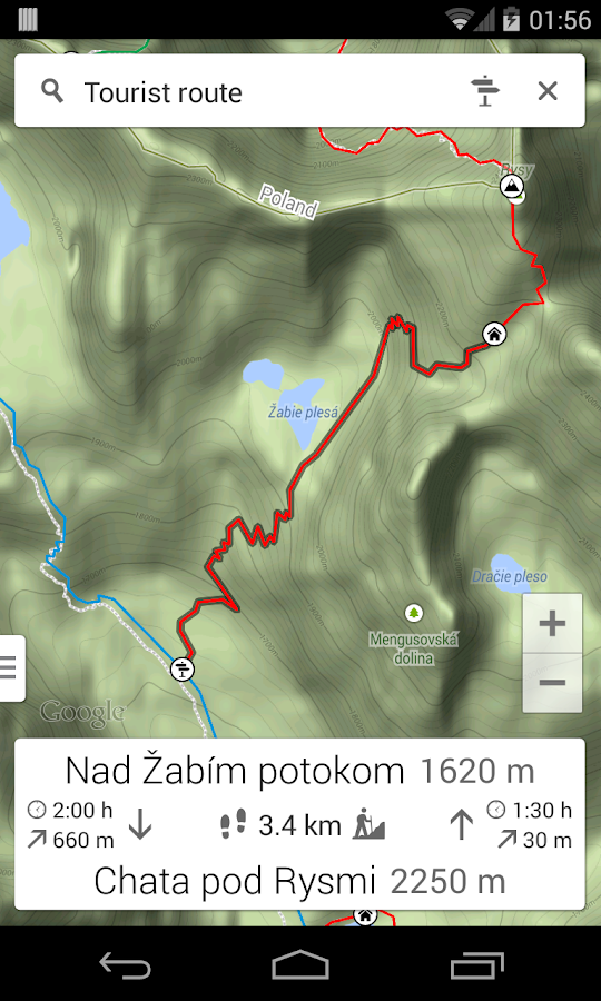 Trails Tatra Mountains- screenshot