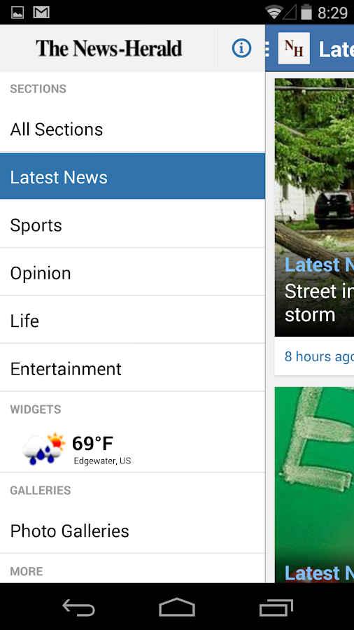 The News-Herald for Android - screenshot