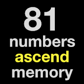 81 numbers ascend memory