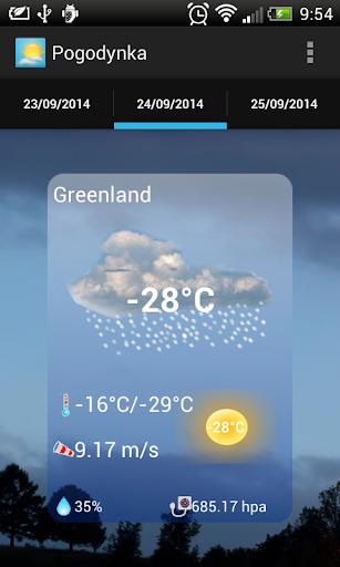 天氣必備APP下載 Pogodynka 好玩app不花錢 綠色工廠好玩App