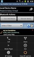 Screenshot of Bluetooth Manager