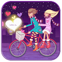 Romantic Love live wallpaper logo