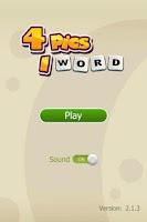 Screenshot of Guess Word - 4 pics 1 word
