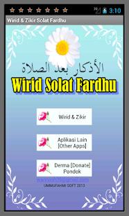 Wirid & Zikir Solat Fardhu - screenshot thumbnail