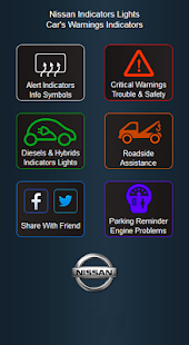 Nissan Cars Indicators Lights