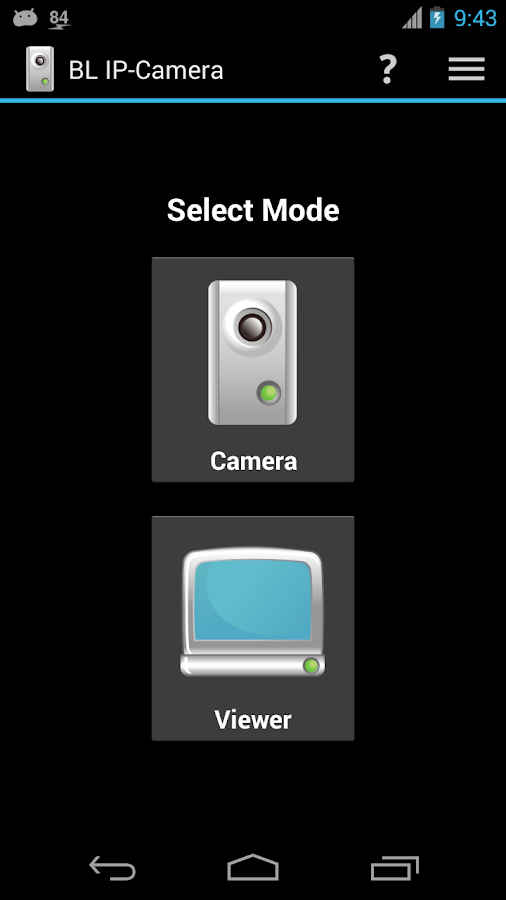 BL IP-Camera - Free- screenshot