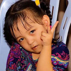 Peaceee... by Azman Jaeh - Babies & Children Child Portraits