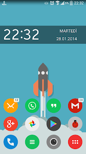 Tondo Icon Pack ADW Apex Nova - screenshot thumbnail