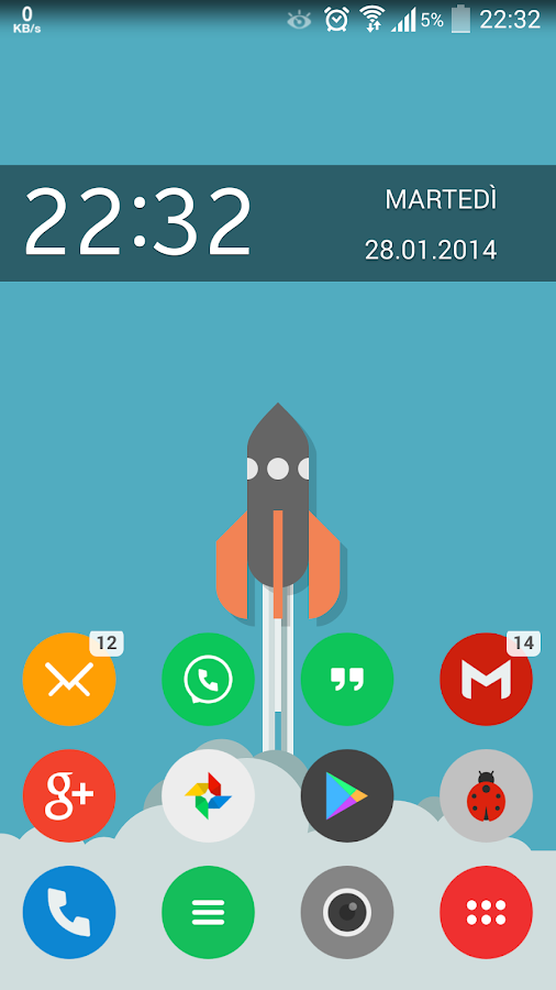 Tondo Icon Pack ADW Apex Nova - screenshot