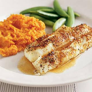 Chili-Roasted Cod.