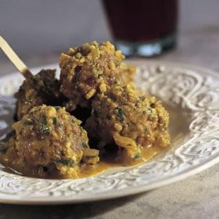 Meatballs in Almond Sauce (Albóndigas en Salsa de Almendra)