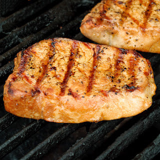 Tender Grilled Pork Chops.