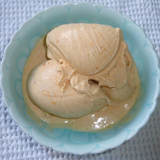 Fresh Peach and Vanilla Bean Custard Ice Cream Recipe