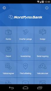 Nordfyns Banks Mobilbank- screenshot thumbnail