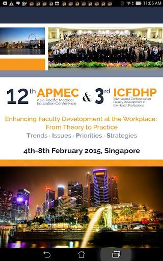 12th APMEC 3rd ICFDHP