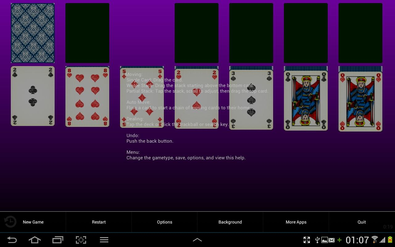 solitaire spel