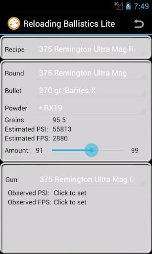 375 Remington U-Mag Ballistics