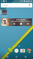 Screenshot of Game radio 8-bit music