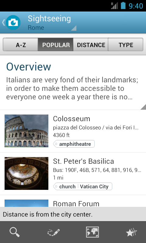 Italy Travel Guide by Triposo- screenshot