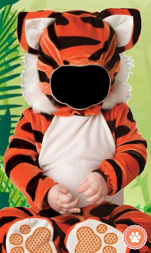 Baby Zoo Animal Photo Montage