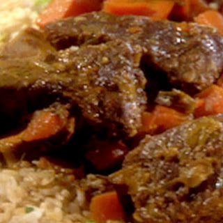 Slow Cooker Ginger-soy Short Ribs And Green Rice With Lime