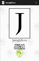 Screenshot of Jeroglificos