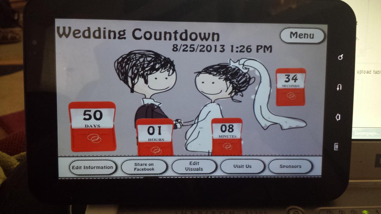 Wedding Countdown Screenshot