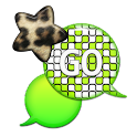 GO SMS - Leopard Star Sky 5 icon