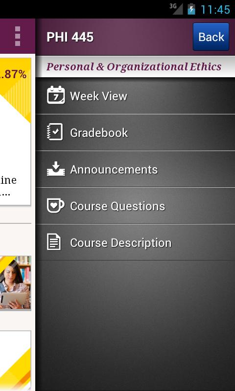 Ashford University Mobile- screenshot