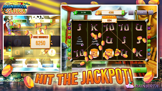 Rainbirth Casino Slot Machine - screenshot thumbnail