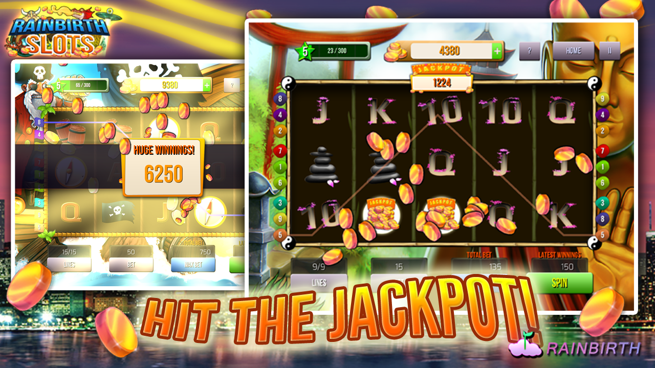 Rainbirth Casino Slot Machine- screenshot