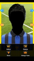 Screenshot of Real Football Player Italy