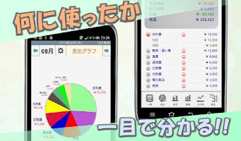 Screenshot of かんたん家計簿
